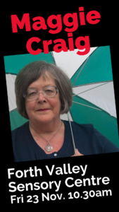 Maggie Craig Book Week Scotland author event
