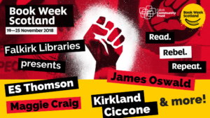 Book Week Scotland author events in Falkirk Libraries