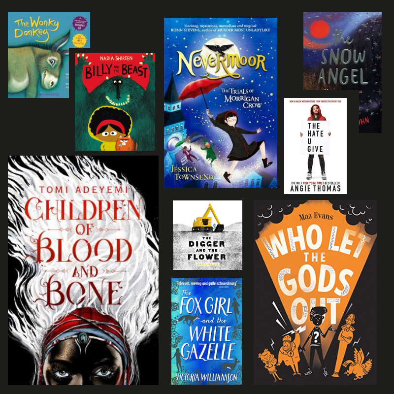 Favourite books for young people 2018