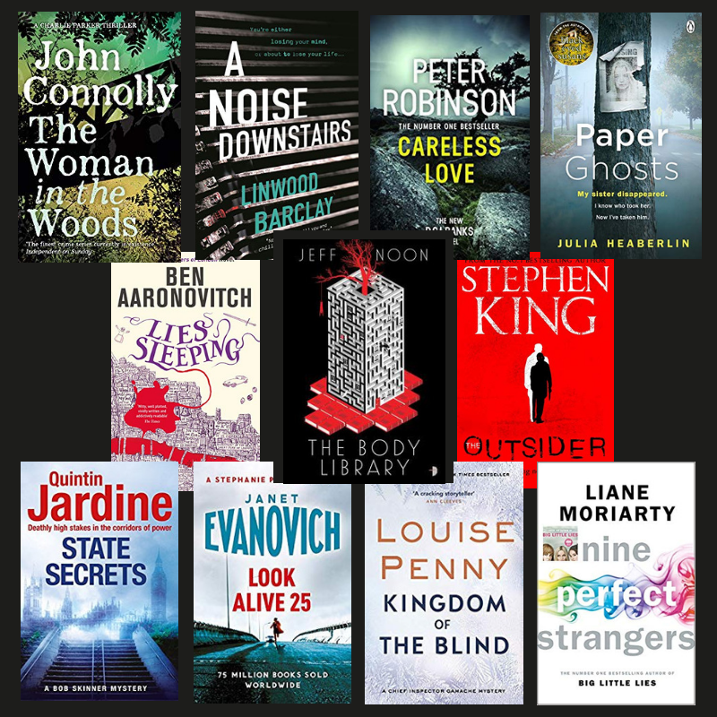 Favourite Reads 2018: Crime and Thriller fiction